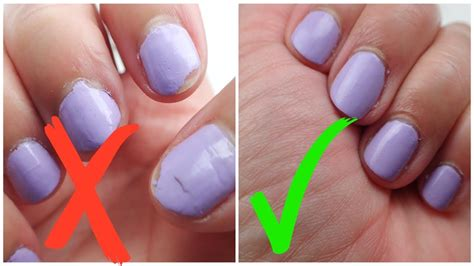 How To Prevent Nail Polish From Peeling/chipping