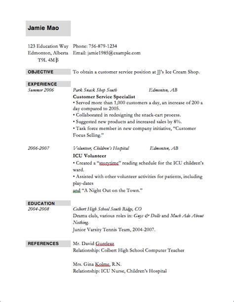 resume exles templates 10 best top 10 resume sles best resume gallery