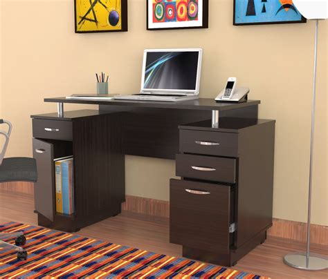 narrow desk with drawers lima compact computer desk piranha trading desk with