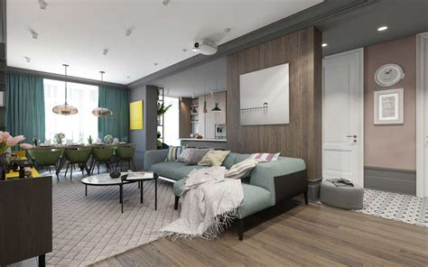 modern home colors interior a pair of modern homes with distinctively bright color themes