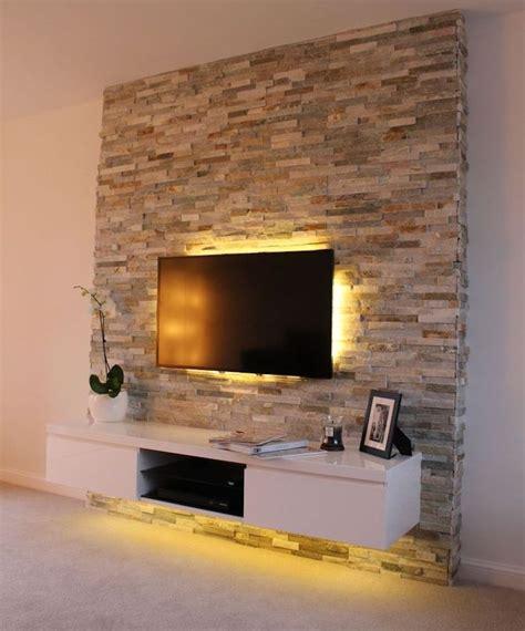 Fernsehwand Mit Beleuchtung by 1001 Ideen F 252 R Fernsehwand Gestaltungen Ideen Und Tipps