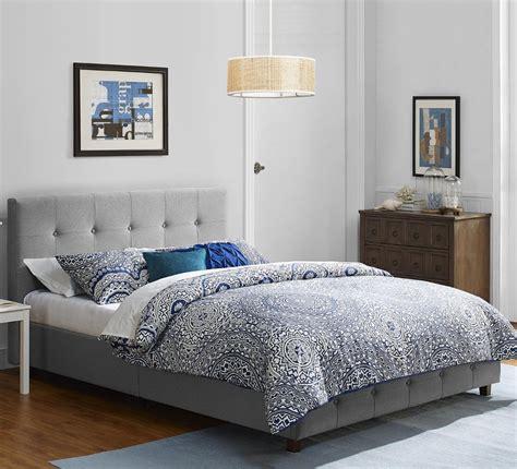 Headboard And Frame by Bed Frame Size Platform Upholstered Bedroom Furniture