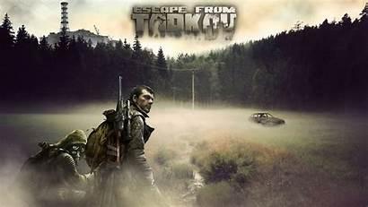 Escape Wallpapers Tarkov Vss Gameplay Sniper