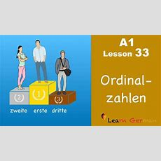 A1lesson33  Learn German