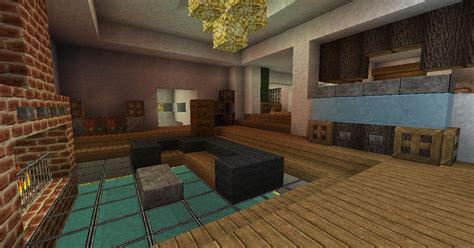 modern house built   side   mountain screenshots show  creation minecraft
