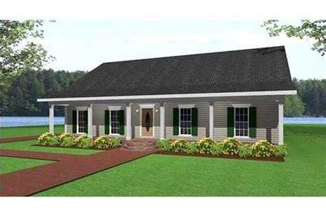 country house plans ranch home design   sq ft