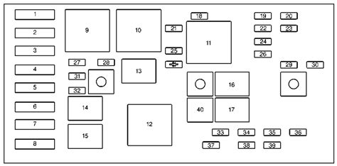 Fuse Box Diagram For 2000 Pontiac Grand Prix by Pontiac Grand Prix Mk7 Sixth Generation 2001 2003