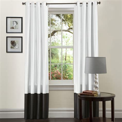Simply Amazing Black And White Curtains To Decorate Your