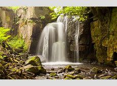Waterfalls desktop wallpapers 4K Ultra HD