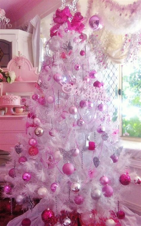 top  pink christmas trees christmas celebrations
