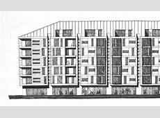 Extensa Bomonti Apartment Building Design sketch for the