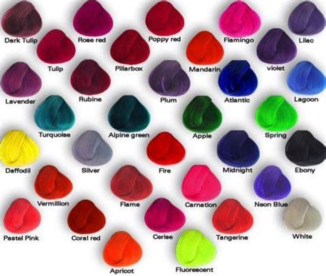 Types Of Hair Colours by Different Types Of Hair Color By Iloveemos2 On Deviantart