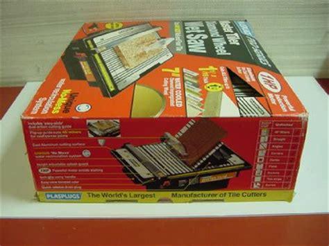 plasplugs dww 101 tile saw plasplugs pro series master tiler wheel saw