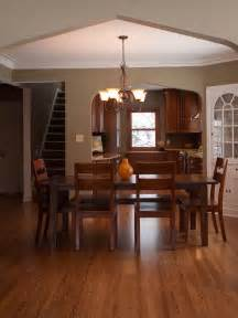 Simple, Craftsman, Style, Dining, Room, With, Wood, Furniture, 50512