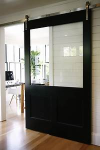 architectural accents sliding barn doors for the home With barn door with glass window