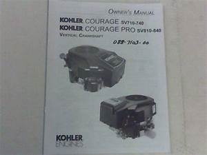 Bad Boy Mower Part 27 Kohler Motor Manual
