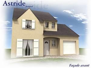 Plan Facade Maison : mod le et plans astride du constructeur maisons clairval ~ Melissatoandfro.com Idées de Décoration