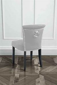 Lighting On A Budget Positano Dining Chair With Back Ring Silver Study