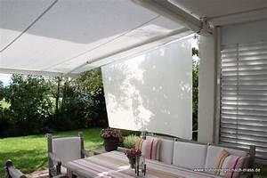 skk der seitliche sonnenschutz fur rolloff und markise With markise balkon mit tapeten bei toom