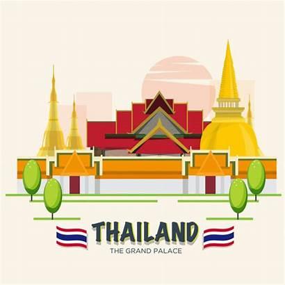Bangkok Thailand Asean Palace Grand Landmark Clipart