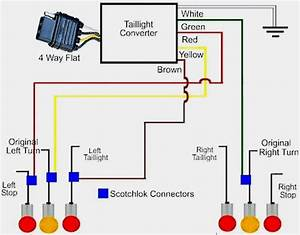 Flat 4 Trailer Plug Wiring Diagram