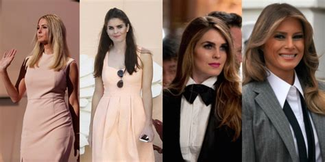 Hope Hicks Fashion Evolution Reveals Melania Trump Trumps Ivanka Business Insider