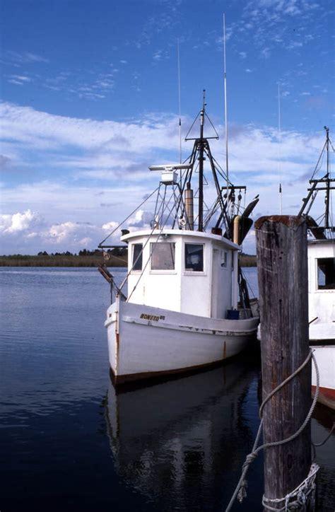 Shrimp Boat Ormond by Florida Memory Bay Shrimp Boat Docked In Cove