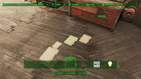 Decorating Magazines Fallout 4 by Fallout 4 What Are Folders For Arqade