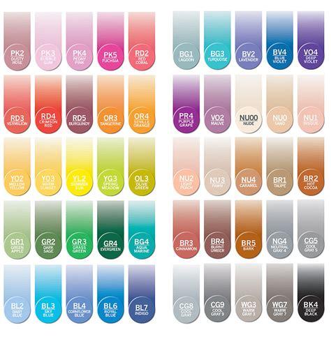 Wie Viele Grundfarben Gibt Es by Chameleon Color Tones Marker Vorstellung Vergleich