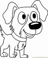 Pound Puppies Coloring Chip Coloringpages101 Cartoon sketch template