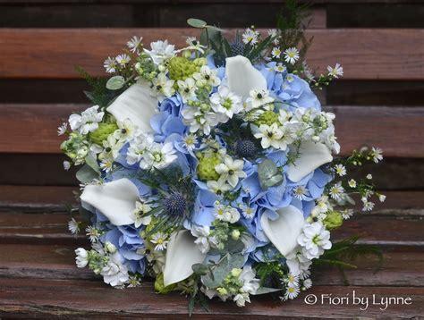 wedding flowers blog jennies rustic blue silver