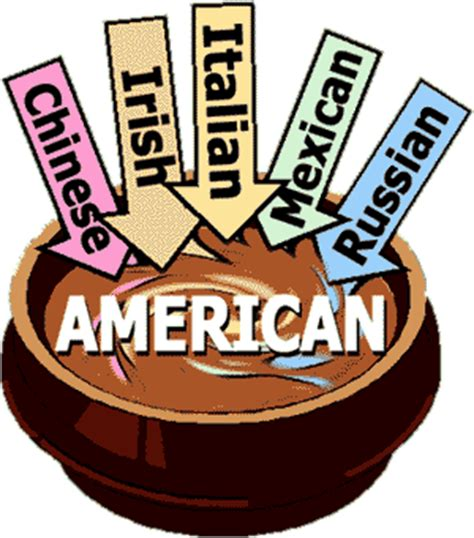 melting pot in america melting pot or salad bowl cglearn it