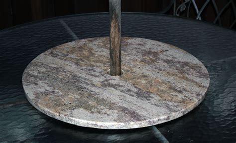 marble gemstones granite lazy susan w umbrella