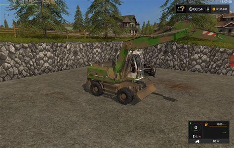Speed Farming Simulator 2017 Mods Ls Mods 17 Liebherr 900 C Forst V3 Ls 17 Farming Simulator 2017 Mod