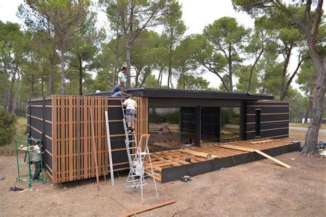 maison bois 50000 euros na de pop up store het pop up huis
