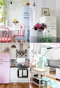 Kühlschrank American Style : vintage style k che ~ Sanjose-hotels-ca.com Haus und Dekorationen