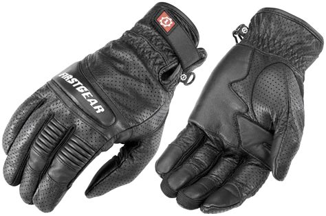 Firstgear Mojave Mens Leather Air Motorcycle Gloves
