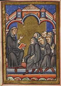 Abbildung 1 2  Mittelalterliche Unterrichtssituation  Cuthbert