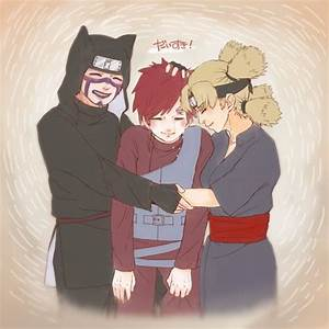 Kankuro, Temari and their little brother Gaara. Love these ...