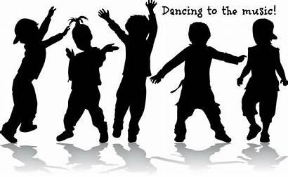 Dancing Dance Silhouette Freeze Clip Children Shadow