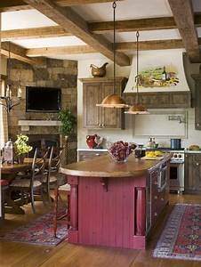 love the cabinets wood beams and stone fireplace i also With what kind of paint to use on kitchen cabinets for hello my name is stickers
