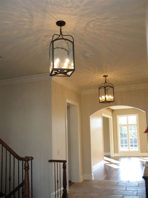 foyer hallway lighting traditional entry chicago