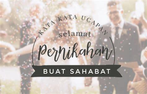 ucapan selamat menikah lucu  bahasa indonesia inggris arab  bijak