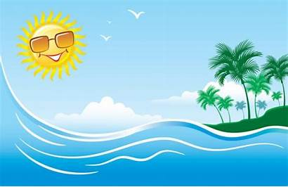 Beach Clipart Summer Clip Clipground Cliparts Background