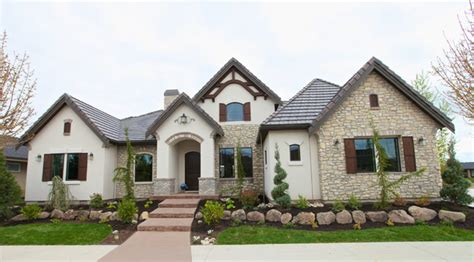 French Country Exterior  Traditional  Exterior Boise