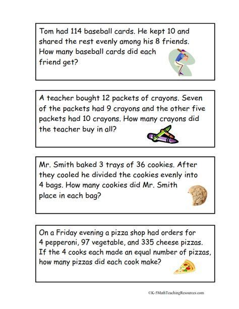 grade number  images math word problems math