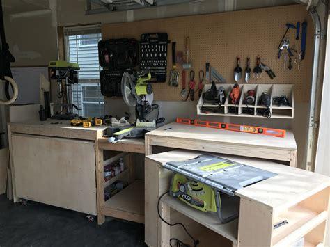 garage workbench ryobi nation projects
