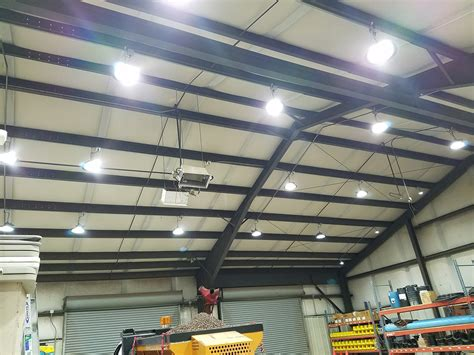 Led Shop Lights by Led Warehouse Lights For High Ceiling Applications