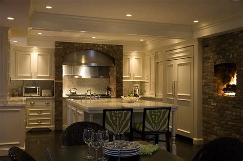 shaped kitchen eclectic kitchen kate coughlin
