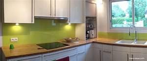 Crédence Cuisine Verre : tableau en verre pour cuisine maison design ~ Premium-room.com Idées de Décoration